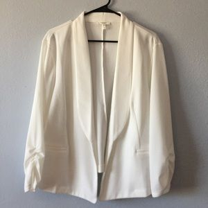 🆕 WOT Open Front Style, White Blazer Maurices